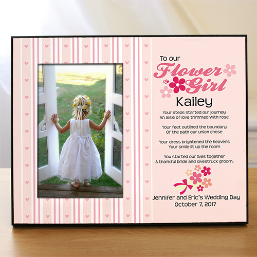 To Our Flower Girl Personalized Printed Frame 433500