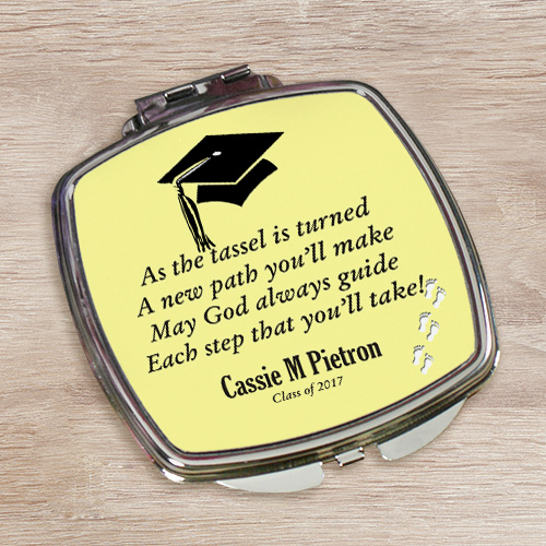 Personalized Graduation Compact Mirror 467219