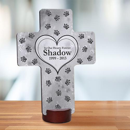 Personalized Pet Memorial Cross 473067