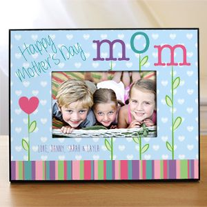 Personalized Happy Mother's Day Printed Frame | Happy Mother's Day Photo Frame