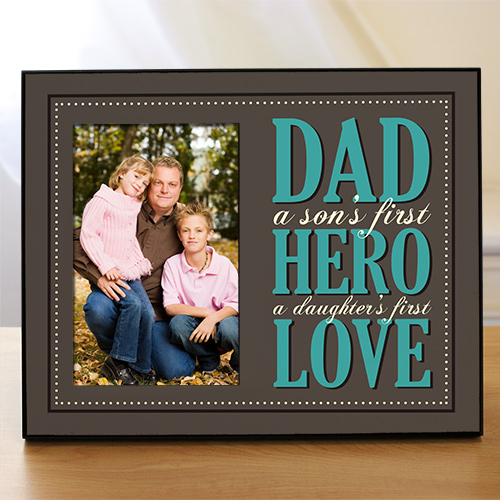 Dad Printed Frame | Daddy Picture Frames