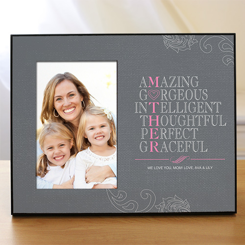 Personalized Mother Printed Frame | Happy Mother's Day Photo Frame