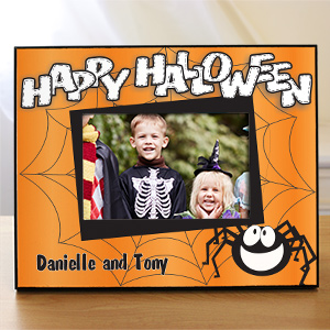 Happy Halloween Printed Frame