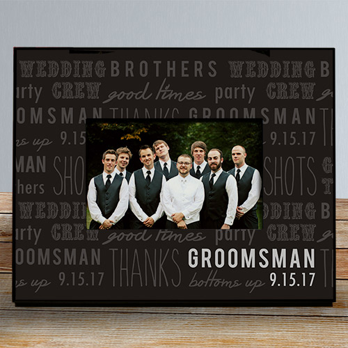 Personalized Wedding Party Printed Frame 477190