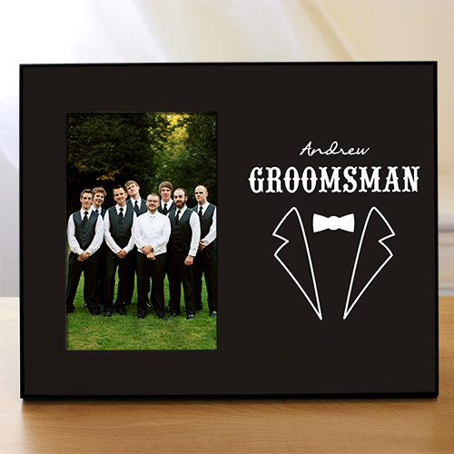 Groomsmen Printed Frame | Personalized Picture Frames