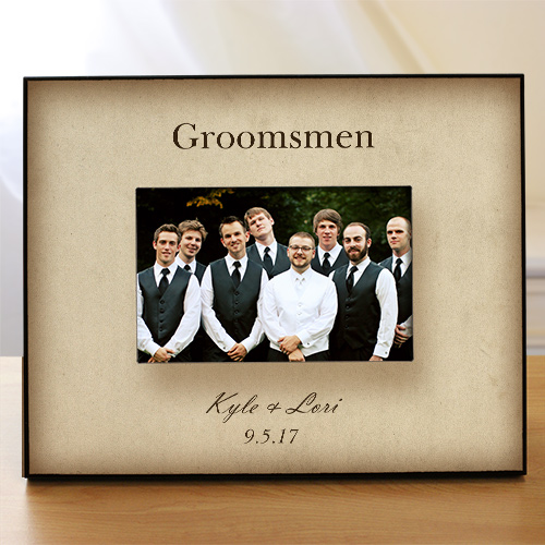 Personalized Wedding Party Printed Frame 477210