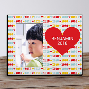Personalized Red Heart Kids Photo Frame | Personalized Photo Frames
