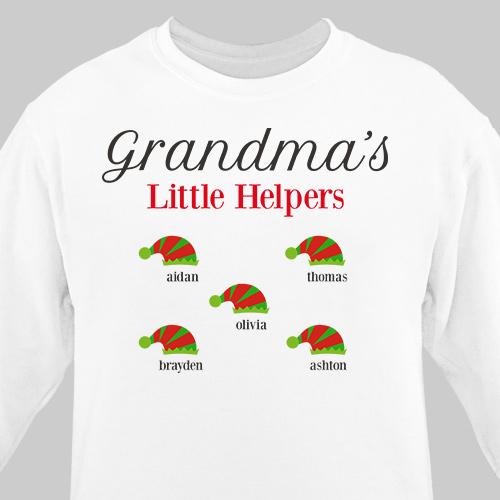 Personalized Holiday T-shirt | Personalized Christmas Shirt