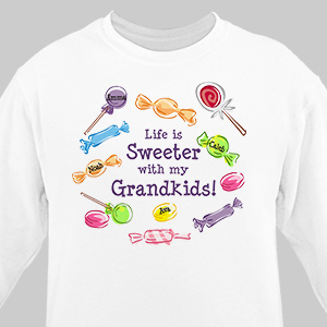 Life Is Sweeter Personalized Sweatshirt 53895X