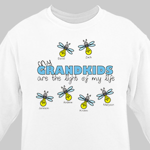 Personalized Light of My Life Sweatshirt | Personalized Grandma Gifts