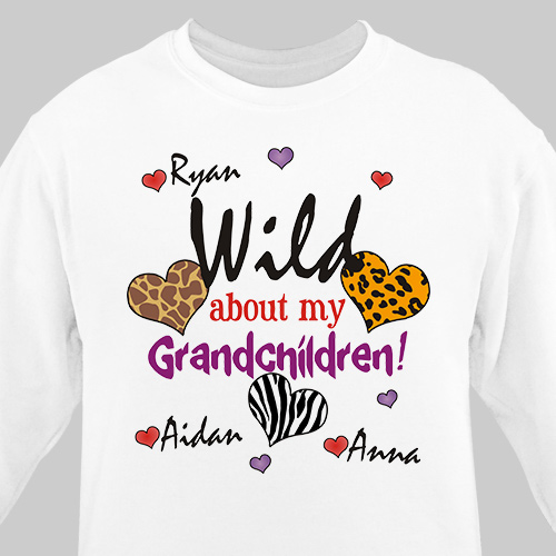 Wild About My Sweatshirt | Personalized Sweatshirts