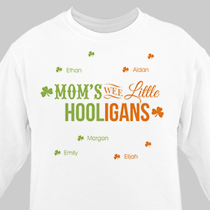Personalized Wee Little Hooligans Sweatshirt 57413X