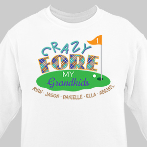 Golf Personalized Sweatshirt 57851X