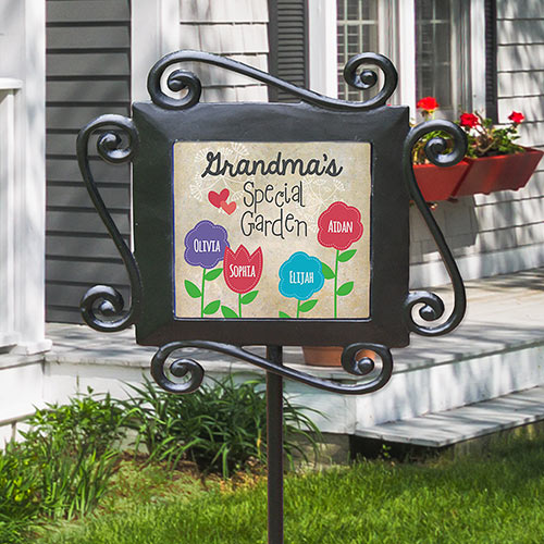 Personalized Grandma's Special Garden Stake | Personalized Gifts For Grandma
