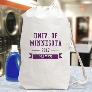 Personalized College Laundry Bag 681102452