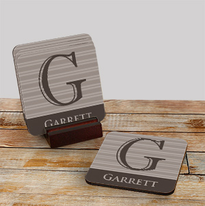 Personalized Drink Coasters 693529CS