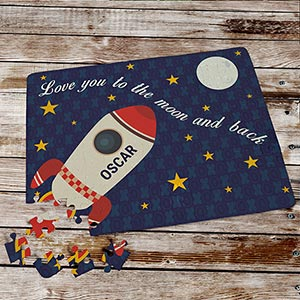 Personalized Love You To The Moon and Back Puzzle 699943
