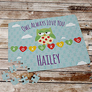 Owl Always Love You Puzzle | Valentines Day Gifts For Kids