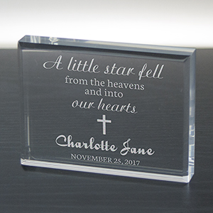 Personalized Baby Baptism Keepsake | Personalized Newborn Baby Gifts