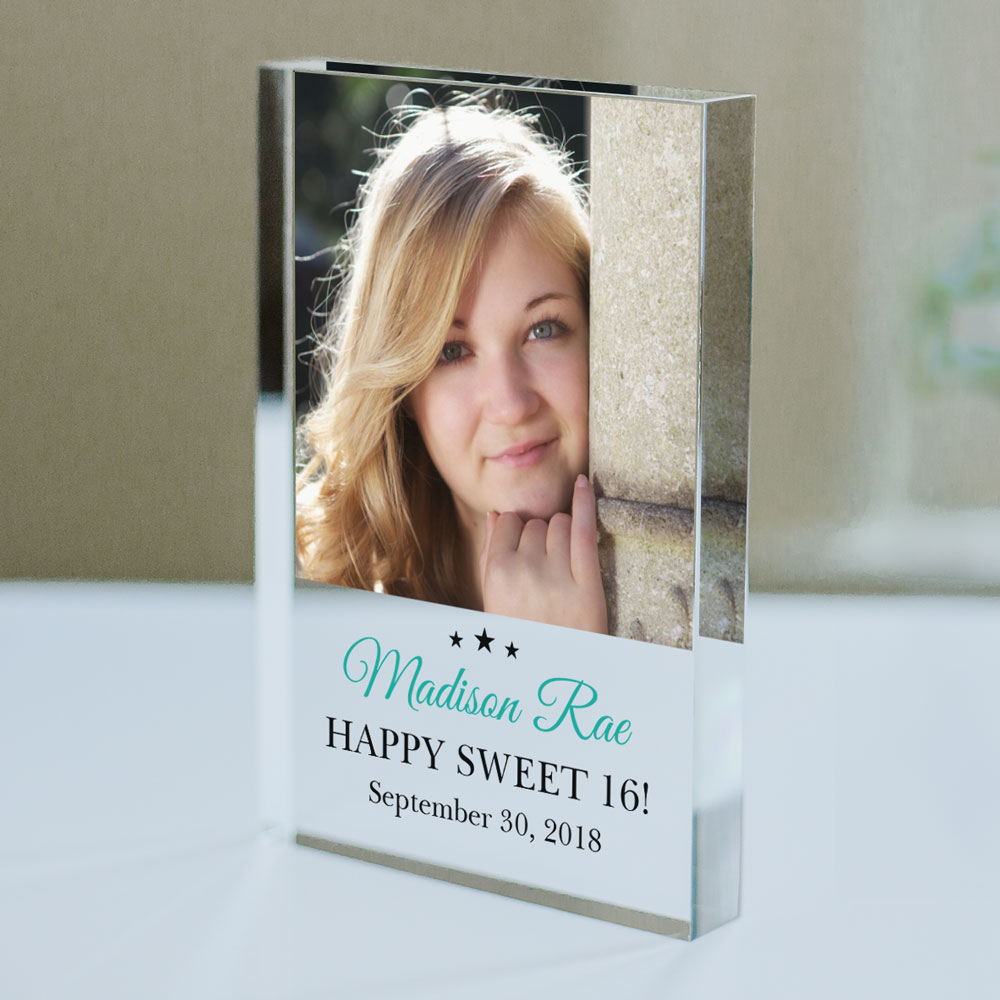 Personalized Star Photo Acrylic Keepsake | Photo Gifts