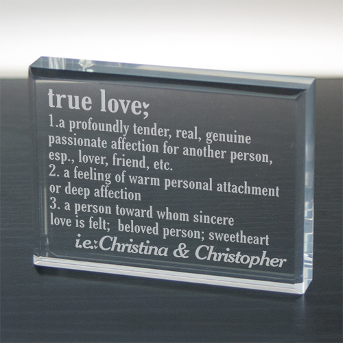 True Love Valentine Keepsake