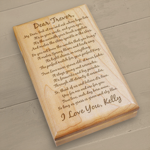 To My Love Personalized Valet Box | Personalized Romantic Gifts