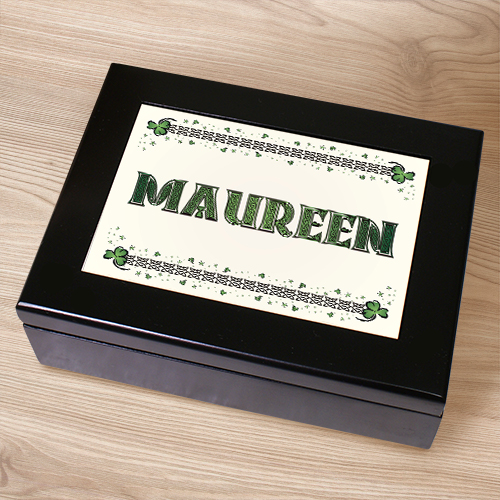 Celtic Irish Keepsake Box