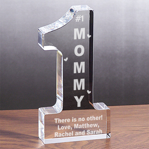 Personalized 1 Mom Keepsake | Personalized Mom Gifts
