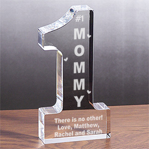 Personalized  1 Mom Keepsake