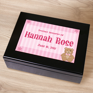 New Baby Keepsake Box | Personalized Keepsake Box