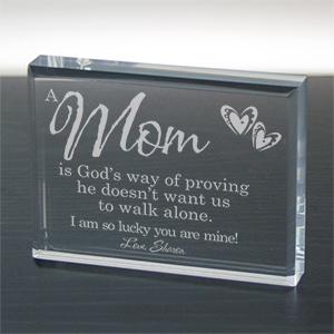 God's Way of Proving... Personalized Keepsake | Special Gift For Mom