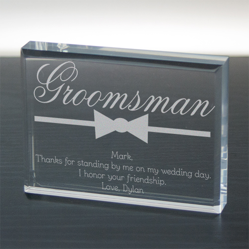 Groomsman Personalized Keepsake 733673