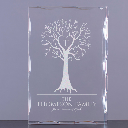 Engraved Family Tree Keepsake 773791