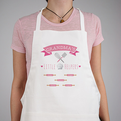 Personalized Little Helpers Apron | Personalized Gifts For Grandma