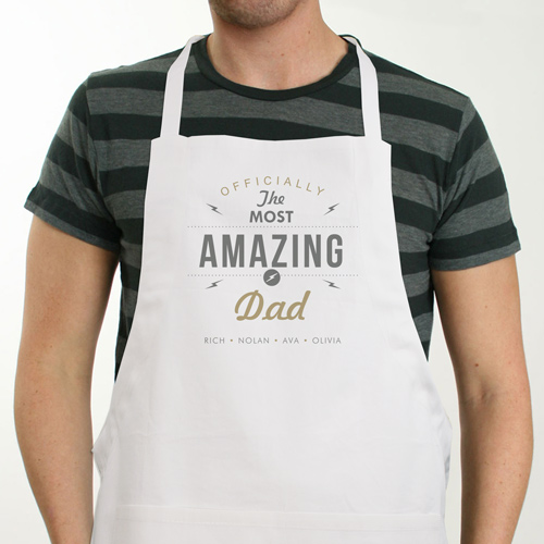 Personalized Most Amazing Apron | Father's Day Gift