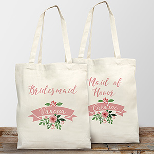 Personalized Bridal Party Tote Bag 8102772