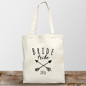 Bride Tribe Personalized Tote Bag