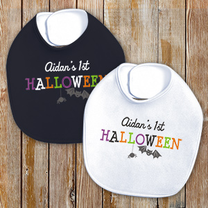 Personalized First Halloween Bib 8106008
