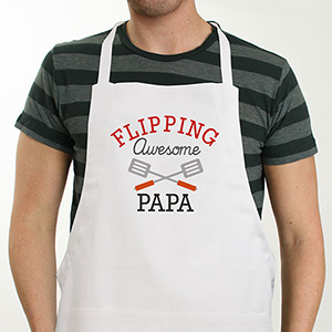 Personalized Flipping Awesome Apron