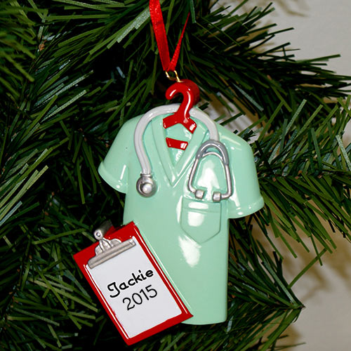 Lab Coat Ornament