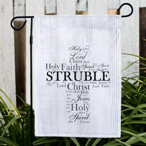 Religious Family Garden Flag | Personalized Easter Flags