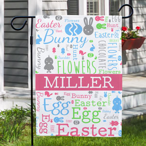 Family Garden Flag | Personalized Spring Garden Flags