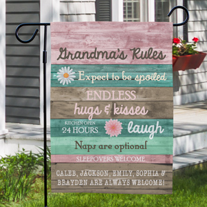 Personalized Garden Flags |Spring Gift Ideas