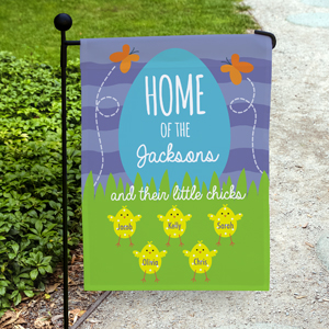 Personalized Home of the Garden Flag 830111602X