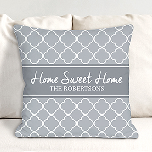 Personalized Spring Throw Pillow 830111683