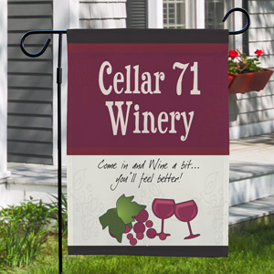 My Winery Personalized Garden Flag 83020712