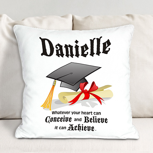 Personalized Graduation Throw Pillow | Graduation Gifts