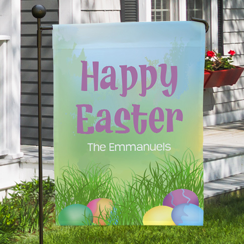 Easter Joy Garden Flag