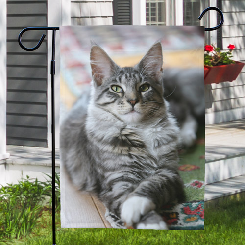 Picture Perfect Pet Photo Garden Flag | Personalized Garden Flags
