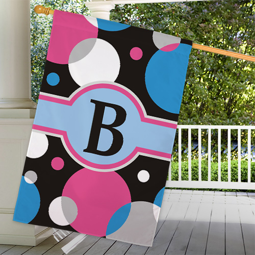 Personalized Monogram House Flag | Personalized House Flags